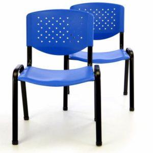 Sada stohovatelných kongresových židlí