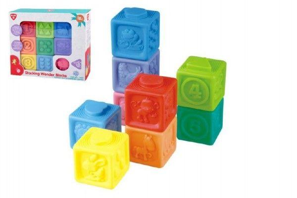 Skládací gumové kostky pro děti